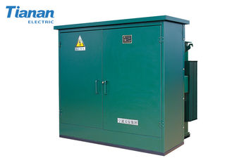 10KV  Fully  Enclosed oil immersed Transformer Prefabrication Substation