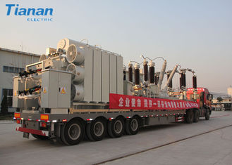 132kv Outdoor Distribution Emergency Power Mobile Transformer Substation