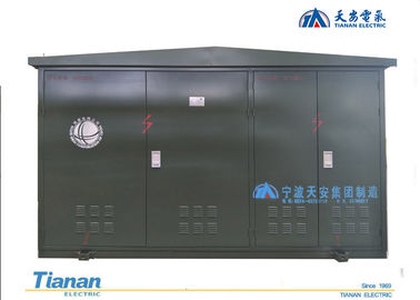 Open Frame 11kV Compact Transformer Substation , Outdoor Cable Branch Box